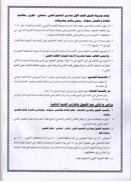 نشرة قواعد القبول بالصف الاول الابتدائي بكل مدارس محافظة القاهرة الرسمية عام ولغات للعام الدراسي 2015/2016 15%2B0015