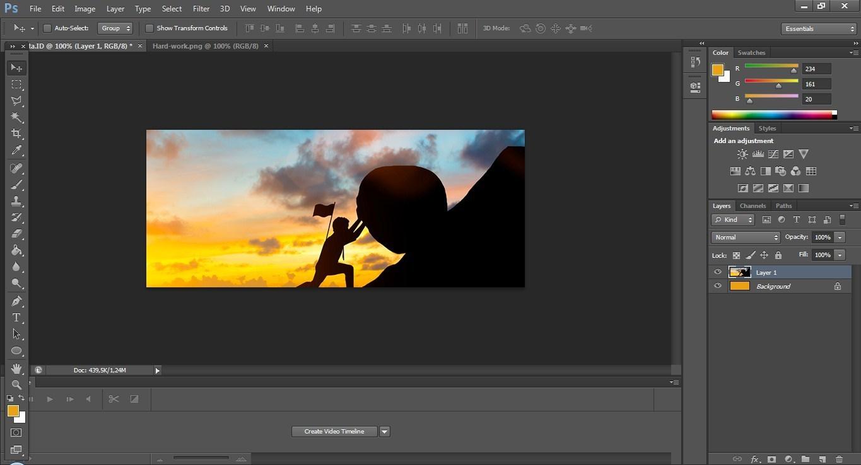 Panduan Cara Mudah Membuat Poster Dengan Photoshop, Lengkap!