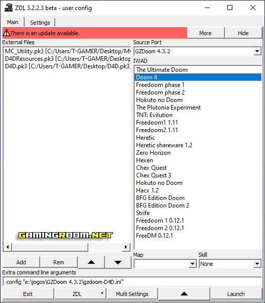 Ordem para usar o D4D Alpha & Bleeding Edge