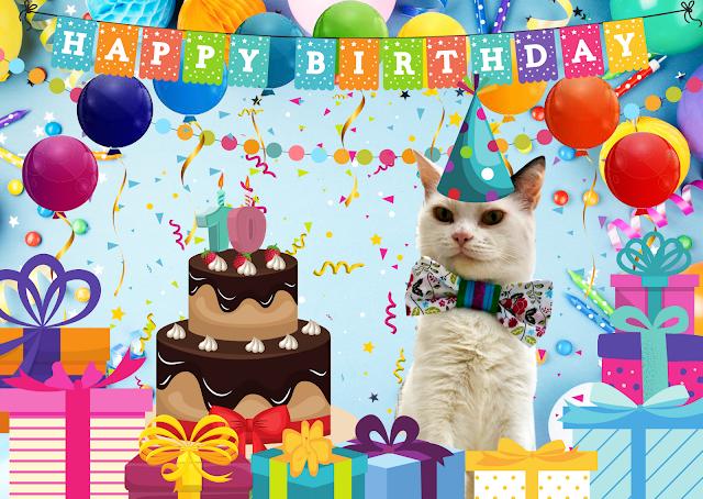 Smooch's Official Birthday Card  ©BionicBasil®