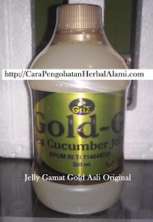 Jual Jelly Gamat Gold G Asli Original Khasiat Manfaat bg kesehatan