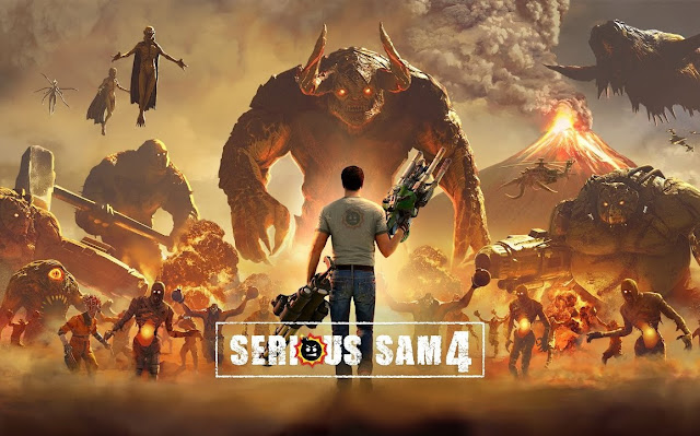 THE SERIOUS SAM 4 COUNTDOWN BEGINS NOW