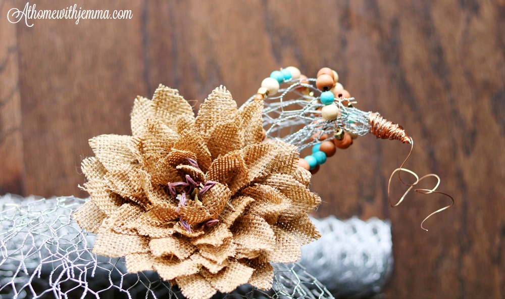 Craft-Fall-Pumpkin-Chicken-Wire-Beads-athomewithjemma