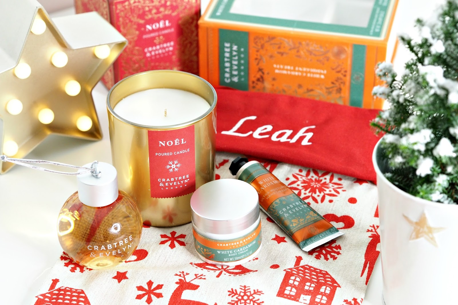 Christmas gift sets with Crabtree & Evelyn