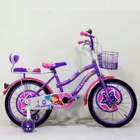 Sepeda Mini Anak Atlantis Bell 18 Inci x 1.75 Inci CTB Steel 5-8 Tahun Kids City Bike