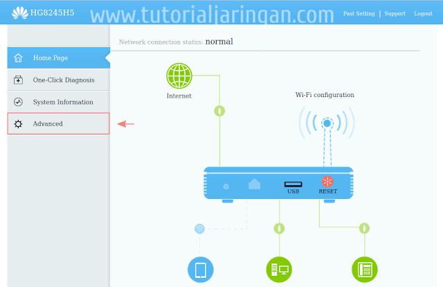 Cara Setting Firewall dan Mengaktifkan Remote Management di Modem ONT Huawei HG8245H5