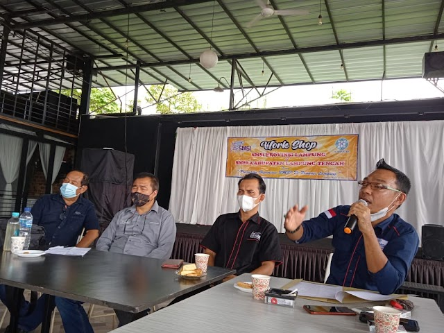 Ketua SMSI Lampung Tengah, Sudirman Mengaku Optimis