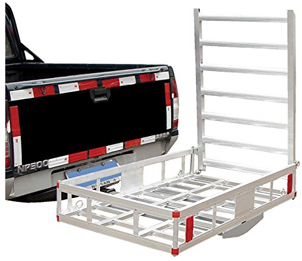 Husky 81150 Aluminum Mobility Wheelchair/Scooter Carrier, Hitch Trailers, Mobility Scooter Trailer Hitch, Scooter Racks, Scooter Trailer Hitch, Scooter Trailers