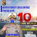 Mulai 23 Juli Ditlantas Polda NTB Gelar Operasi Patuh Gatarin 2020