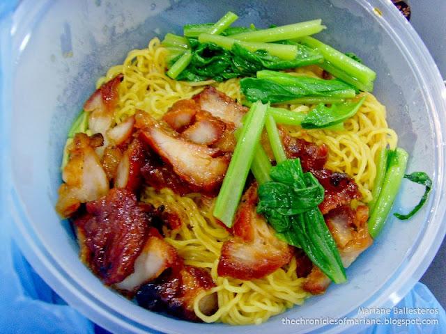 char siu noodle