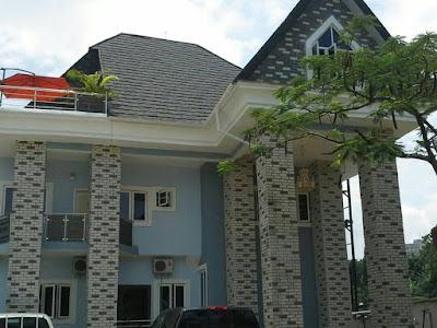 Eco bricks siding in Nigeria