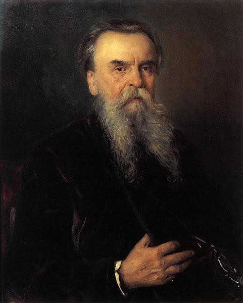 Маковский Владимир Егорович - Портрет И.Е.Цветкова. 1913