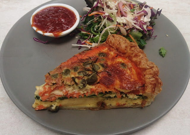 Warran Glen Garden Centre & Cafe, Warrandyte, vegetarian quiche