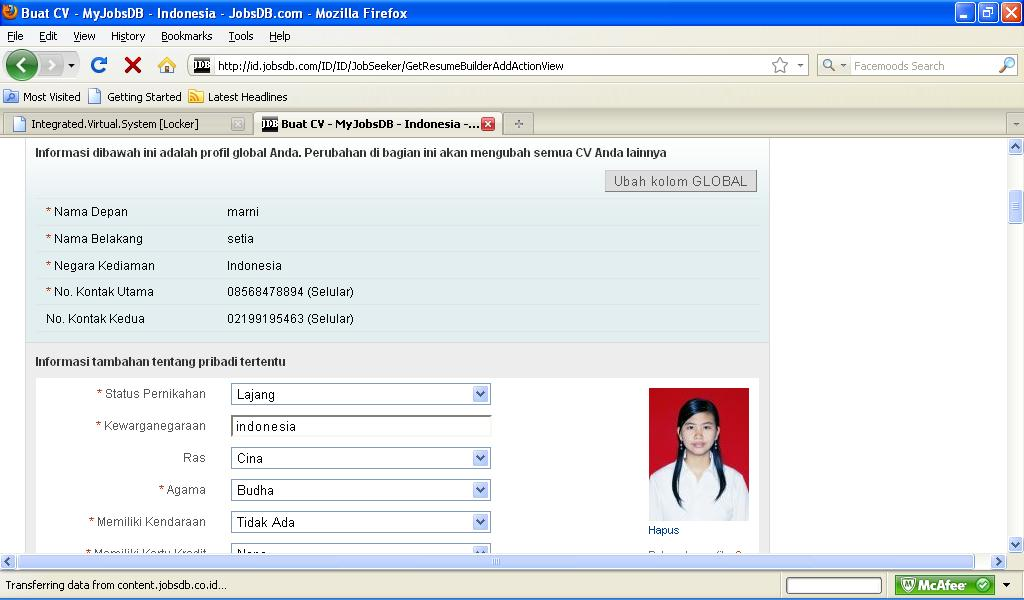 How To Upload Resume In Jobstreet Nmdnconference Com Example
