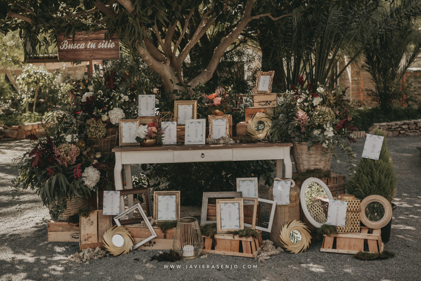 sitting de boda
