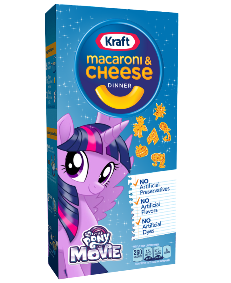 Equestria Daily - MLP Stuff!: (Unconfirmed) Kraft Macaroni and Cheese