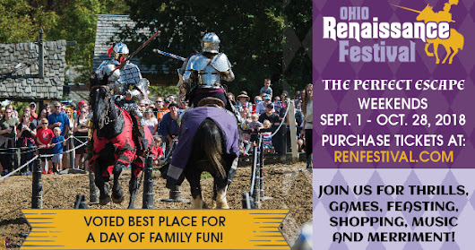 Step Back in Time: Ohio Renaissance Festival Tickets Discount Code - 2018
