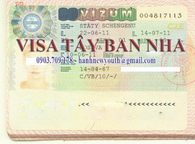 Dịch vụ làm visa Tây Ban Nha tại TPHCM uy tín