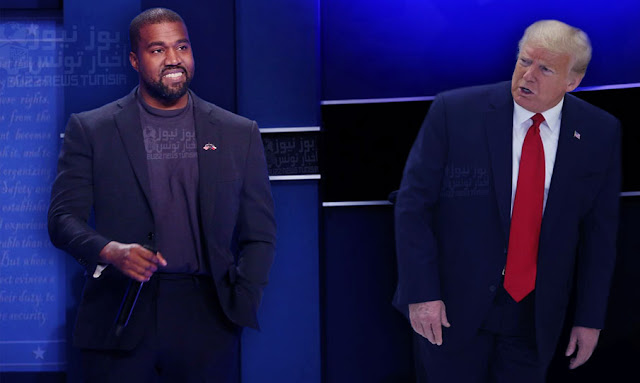 Kanye West challenges Trump and announces his candidacy for the presidential elections
