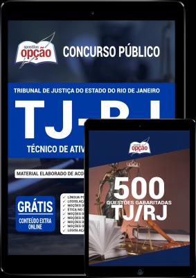 O Combo Digital TJ-RJ 2020 - Técnico de Atividade Judiciária foi elaborado pensando em 2 Bases de Estudo, onde você ECONOMIZA dinheiro e tem uma preparação mais completa.