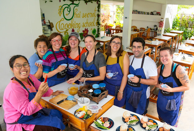 Thai Secret Cooking Class and Organic Garden Farm. August 23-2018