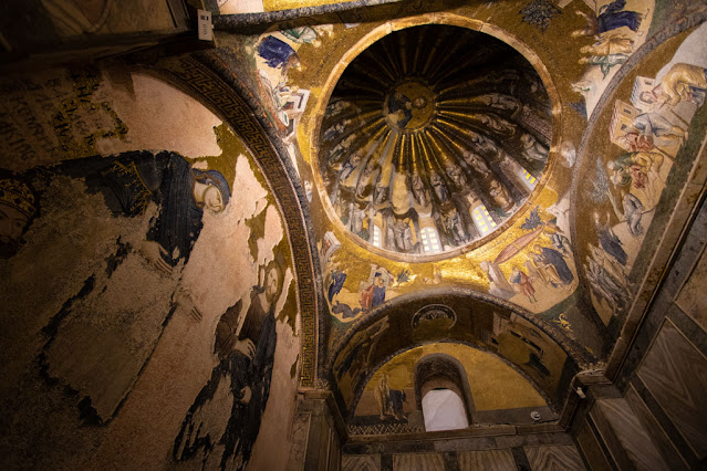 Mosaici nella Chiesa di Chora (Kariye Muzesi)-Istanbul