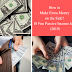 How to make extra money on the side - 10 fun passive income jobs (2019)