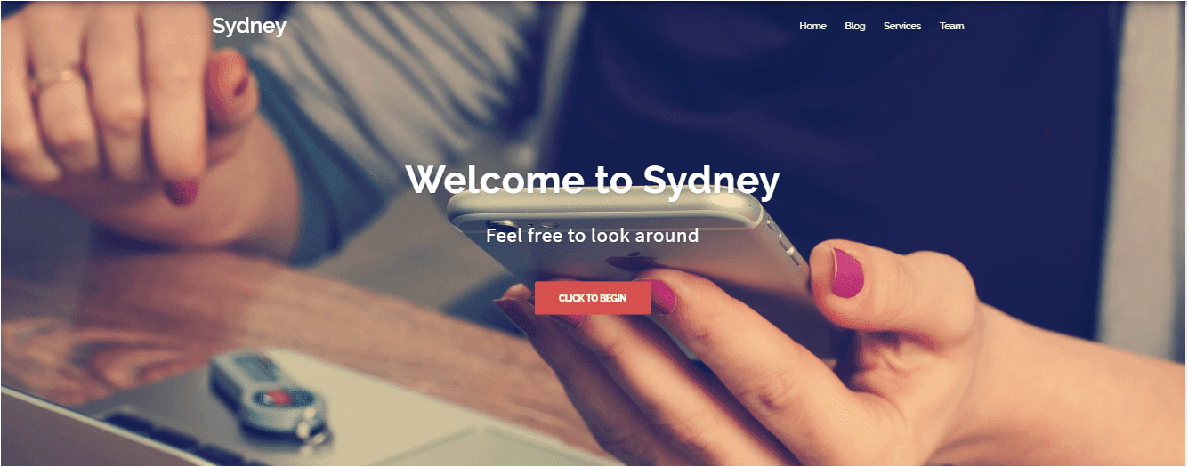 Sydney Wordpress themes free download