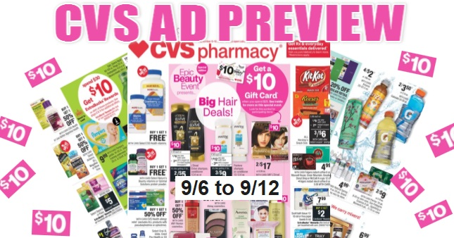 CVS Ad Scan 9-6 to 9-12