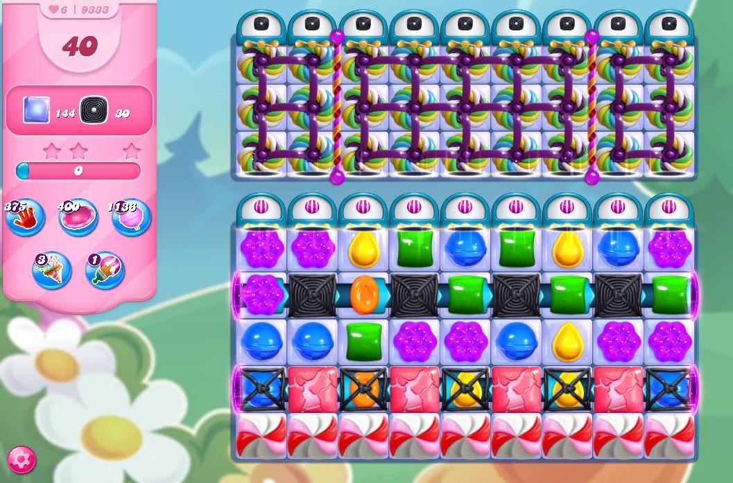 Candy Crush Saga level 9333