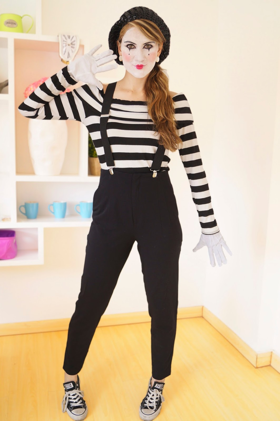 Mime Costume Tutorial