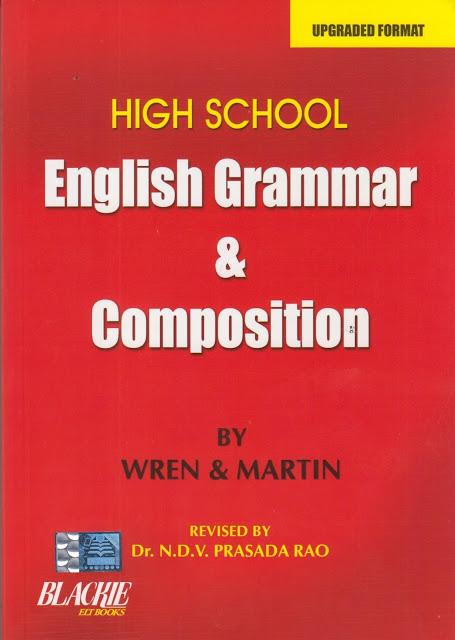 Download Free Wren & Martin English Grammar Pdf Ebook  Jobsfundaz