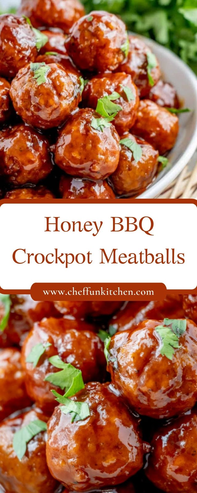 Honey BBQ Crockpot Meatballs