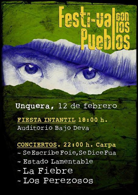 FESTIVAL CON LOS PUEBLOS. Unquera