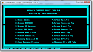Download Android Fastboot Reset Tool 2.0   Reset Frp Easily