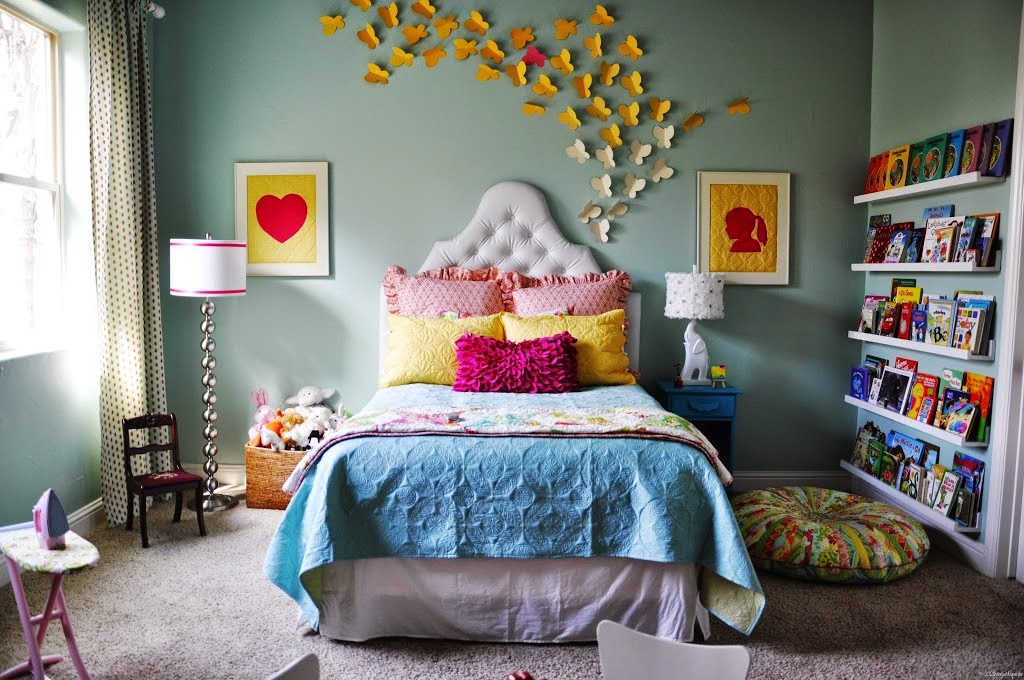 butterfly girl room