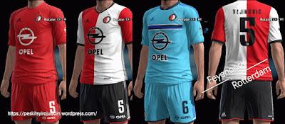 PES 2013 Feyenoord 2016-2017 GDB by Syirojuddin