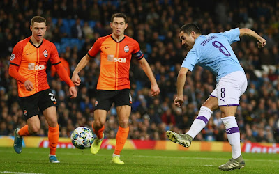 Video Cuplikan Gol: Manchester City 1-1 Shakhtar Donetsk (UEFA Champions League)