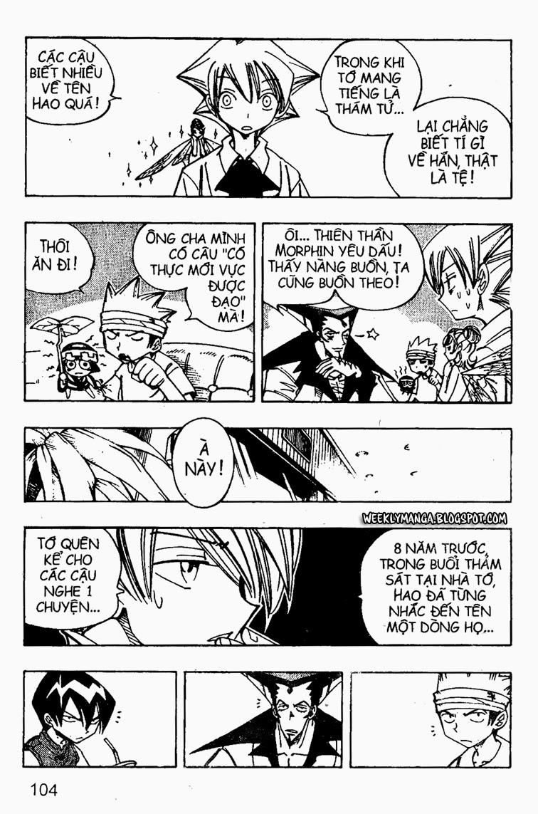 Shaman King [Vua pháp thuật] chap 89 trang 8