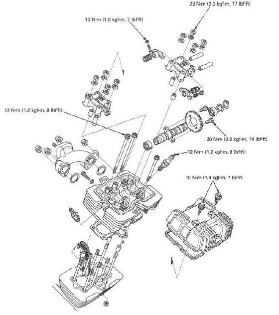 desmontando motor daytona 350