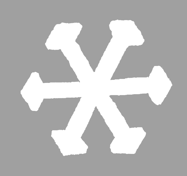 the graphics monarch digital snowflake cutout silhouette