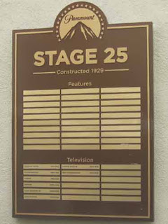 STAGE 25 on Paramount Backlot.