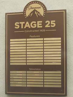 STAGE 25 on Paramount Backlot.