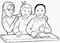رسومات اطفال للتلوين تعليمية ملونة