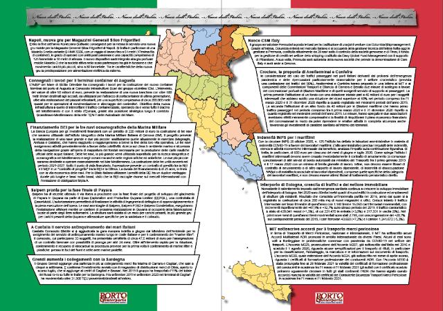 NOVEMBRE 2020 PAG. 4 -  NEWS DALL'ITALIA
