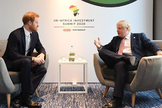 Prince Harry business as usual as UK-Africa Investment Summit London 2020