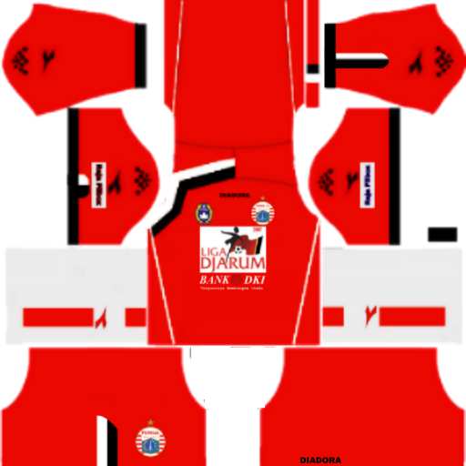 Kits Dream League Soccer Persija 2007 - Dream League Soccer 2019