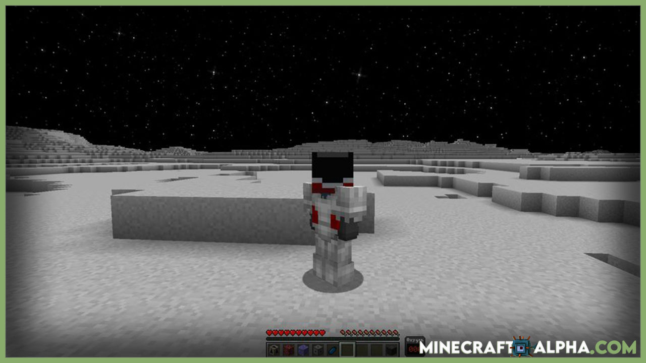 Minecraft Moon And Space Mod Images
