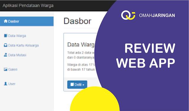 Review Aplikasi RT RW Berbasis Web PHP, MySQL, dan Codeigniter