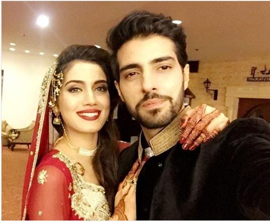 Furqan Qureshi Sabrina Naqvi Wedding Reception Pictures